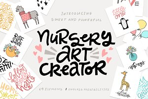 Nursery Art Creator - DIY pack