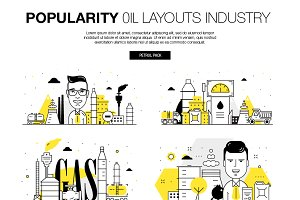 Popularity oil layouts