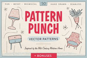 Pattern Punch - 50 Vector Patterns
