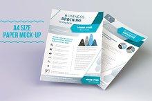 Minimal 2 Versions A4 Paper Mockups