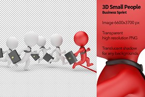 3D Small People - Business Sprint