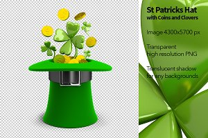 St Patricks Hat with Coins