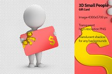3D Small People - Gift Card