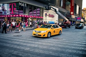 Yellow NYC Cab