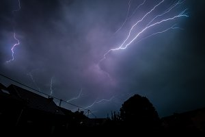 Thunderstrucked...