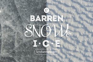 Barren Snow & Ice Textures