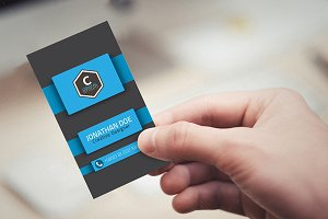 Creative Stylish Business Card