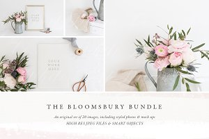 The Bloomsbury Mock up Bundle