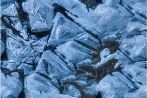 the abstract background of ice frozen structure. Seamless texture