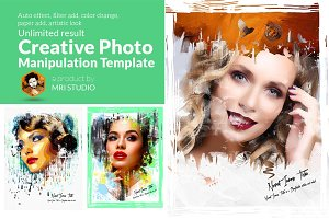 Creative Photo Manipulation Template