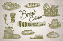 Bread Illustration Collection