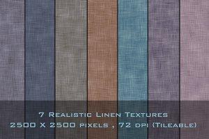 Realistic Linen Textures