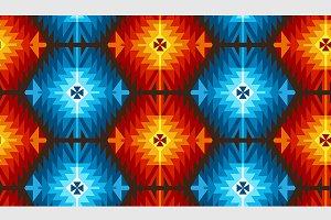 Seamless Vector Tribal Pattern