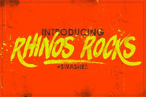 Rhinos Rocks +Swashes