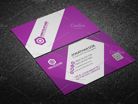 Editable business card business card templates creative market editable business card business cards wajeb Images