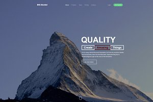 Qualitic - Bootstrap Html Template