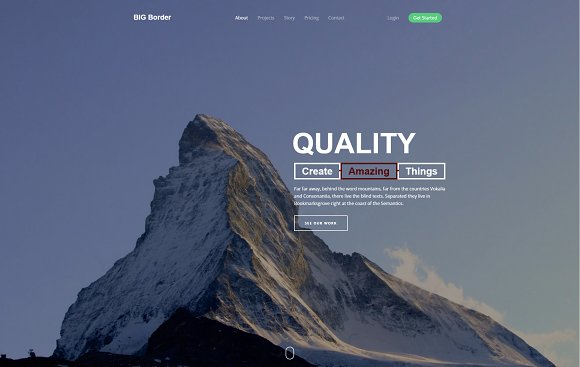 Qualitic Bootstrap Html Template