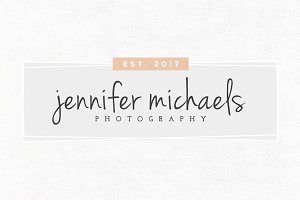 Jennifer Michaels Premade Logo