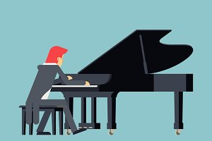 Pianist Piano Player
