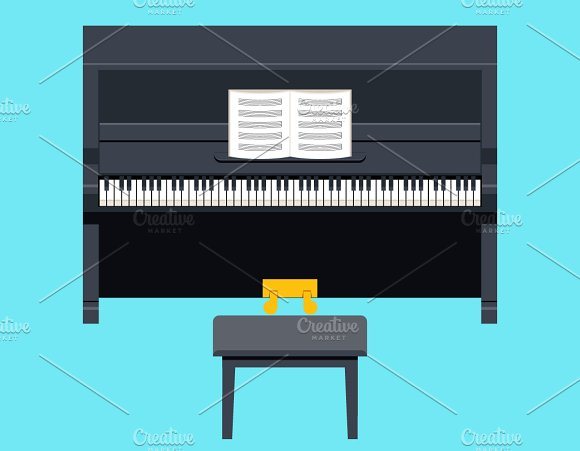Piano Icon Concept