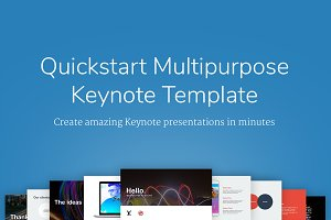 QuickStart Keynote Template