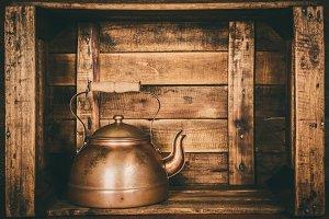teapot retro vintage old