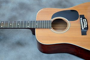 Acoustic guitar 40 years old