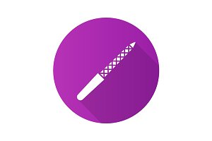 Nail file icon. Vector
