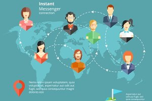 Instant Messenger Concept