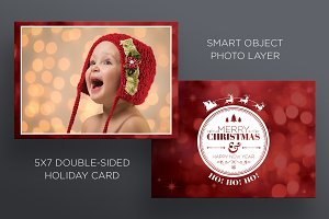 Christmas/New Years - 2 Sided Card