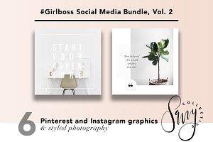#GirlBoss Social Media Bundle, Vol 2