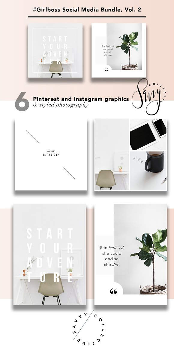 #GirlBoss Social Media Bundle, Vol 2