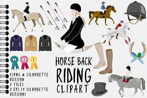 Horseback Riding / Horse Clipart