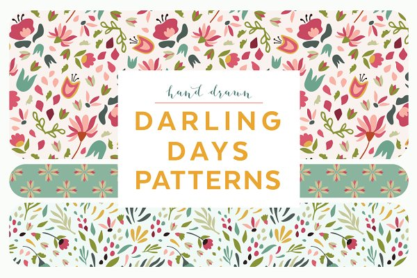 Darling Days Patterns