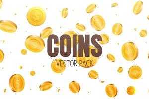 Coins Vector Pack
