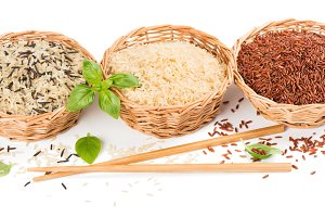 Variety of rice.
