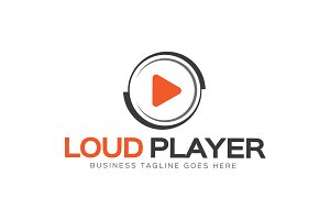 Loud Player Logo