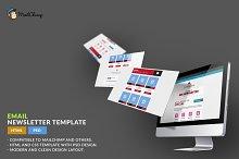 E-Newsletter Template: HTML