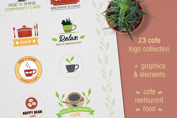 Cafe Logo Collection