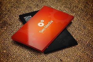 SEO Company Business Card