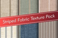 Striped Fabric Texture Pack by  in Fabric