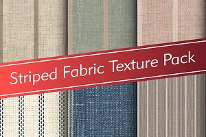 Striped Fabric Texture Pack