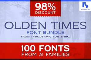 Olden Times Font Bundle
