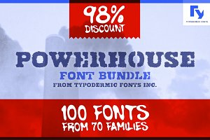 Powerhouse Font Bundle