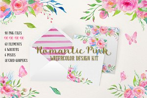 Design Kit Romantic Pink