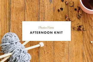 AFTERNOON KNIT - Styled Photos