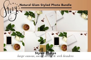 Natural Glam Styled Photo Bundle