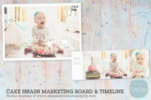 IJ002 Cake Smash Marketing Bundle