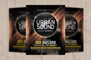 Urban Sound Flyer / Poster