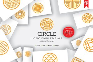 Circle Logo Emblems Bundles Vol.2